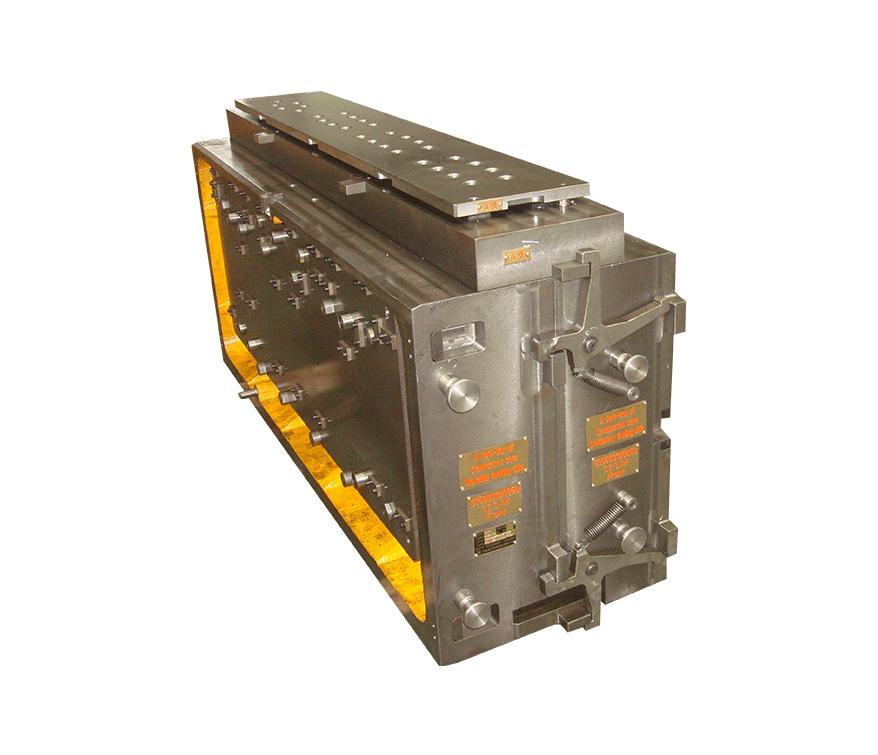 缸体立射制芯中心冷芯盒模具