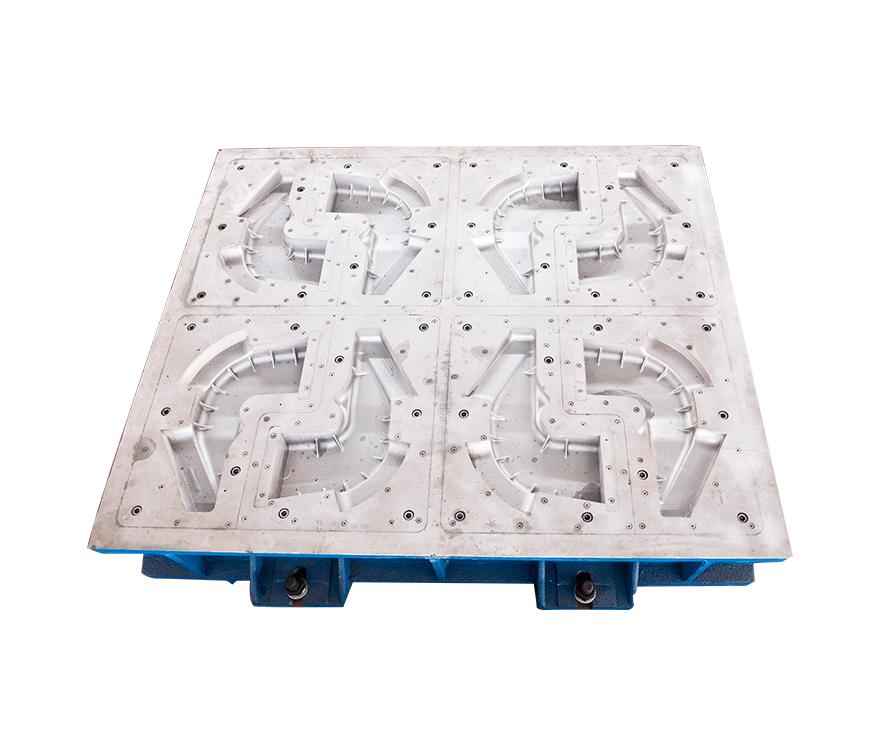 侧架制芯线芯盒-1